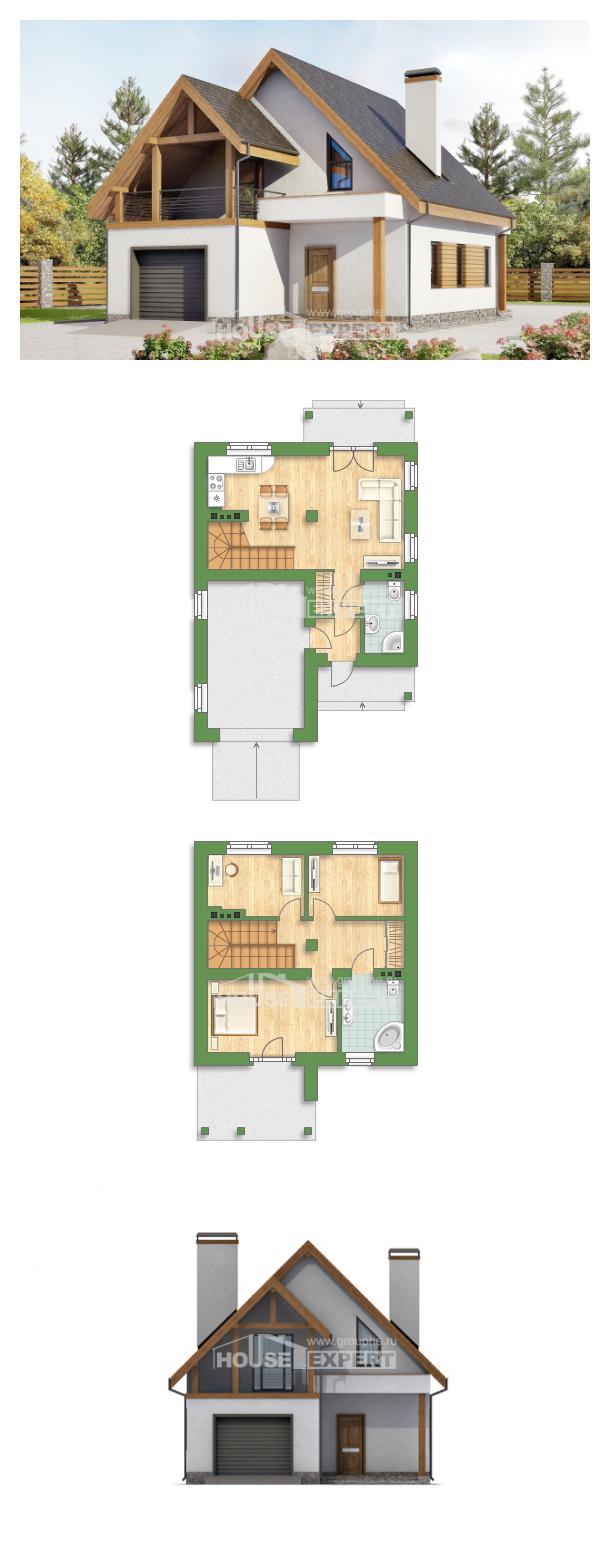 Проект дома 120-005-П | House Expert