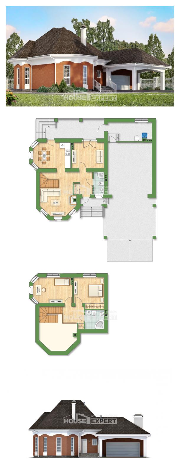 Проект дома 180-007-П | House Expert