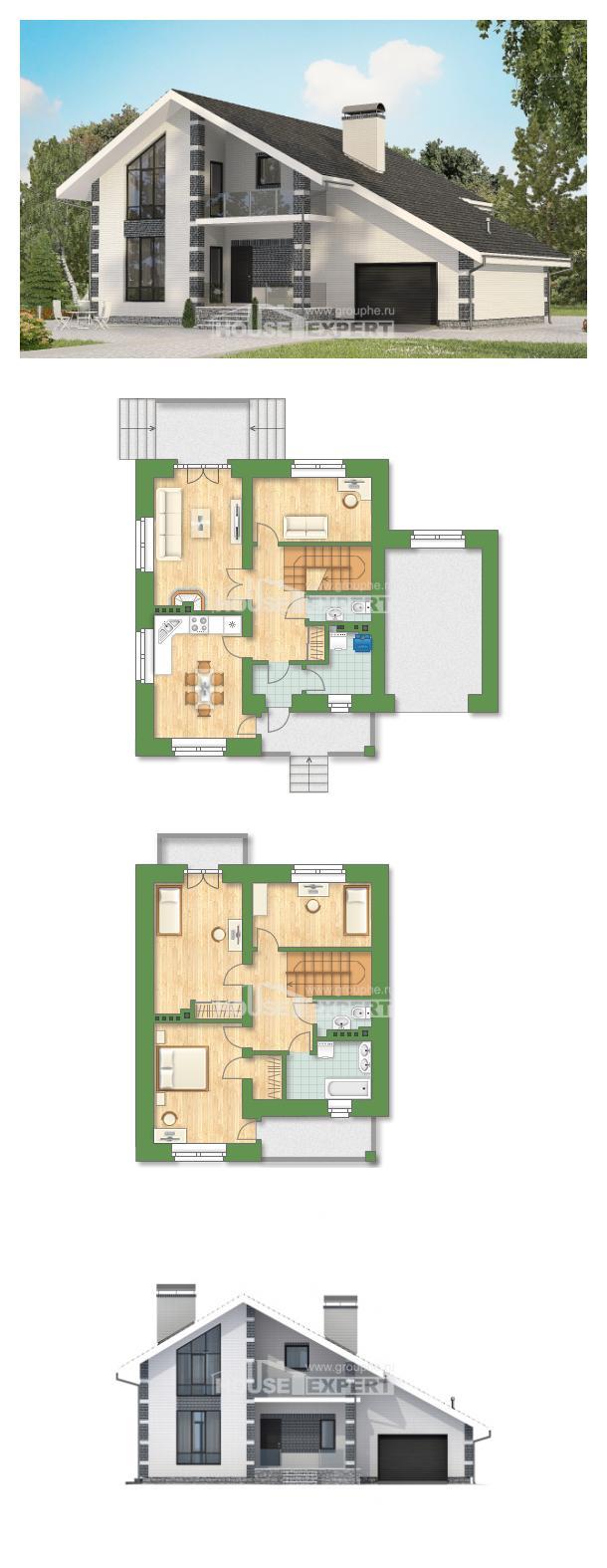 Проект дома 180-001-П   House Expert