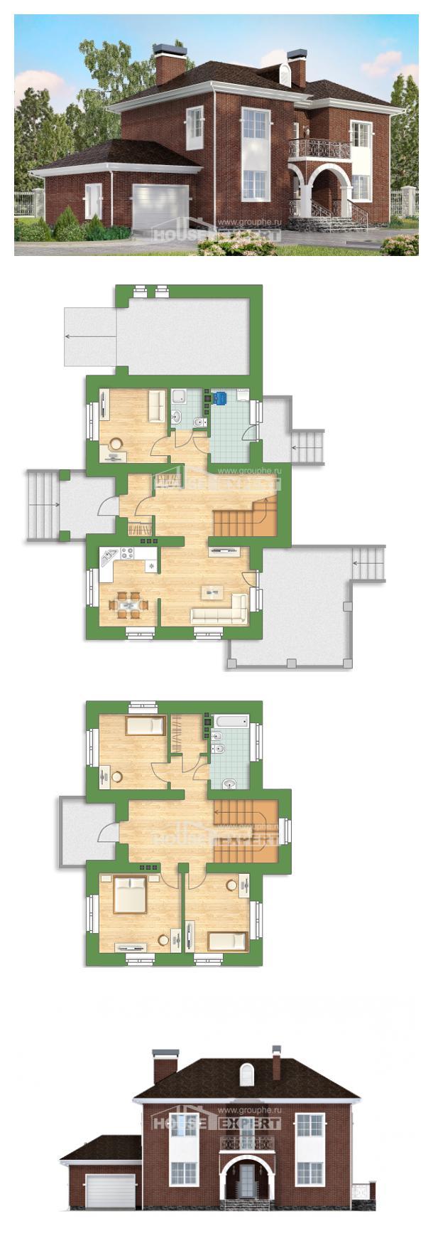 Проект дома 180-006-Л   House Expert