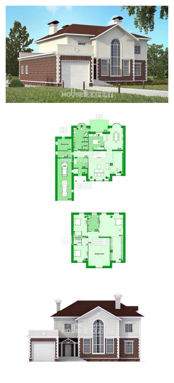 Проект дома 380-001-Л | House Expert