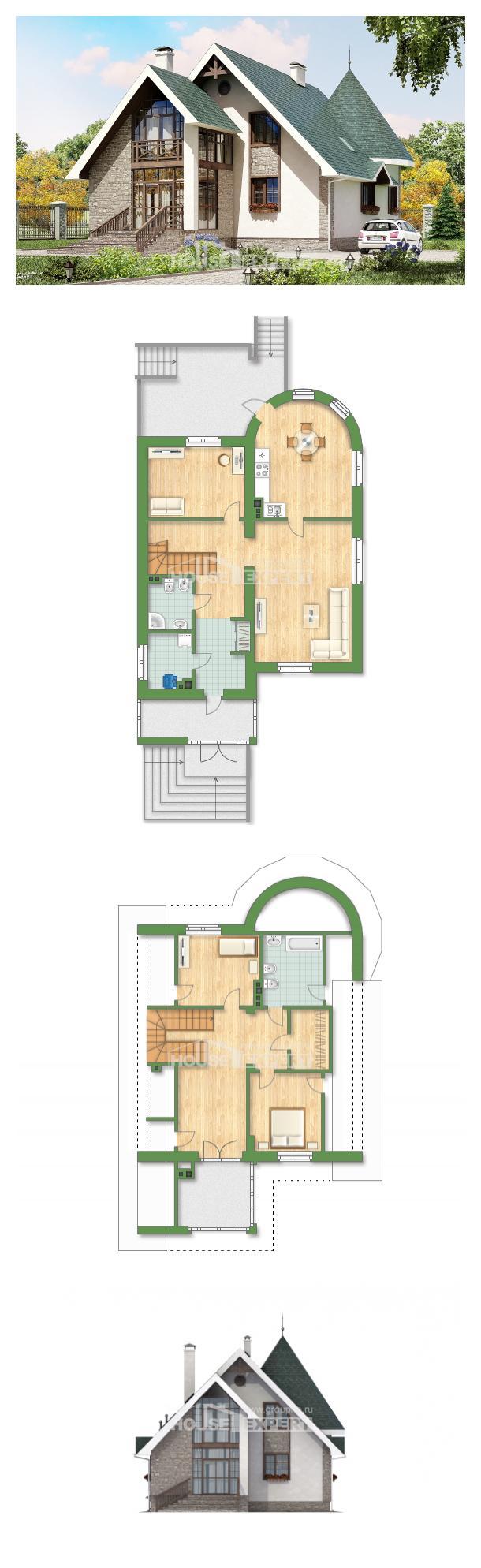Проект дома 170-003-Л | House Expert