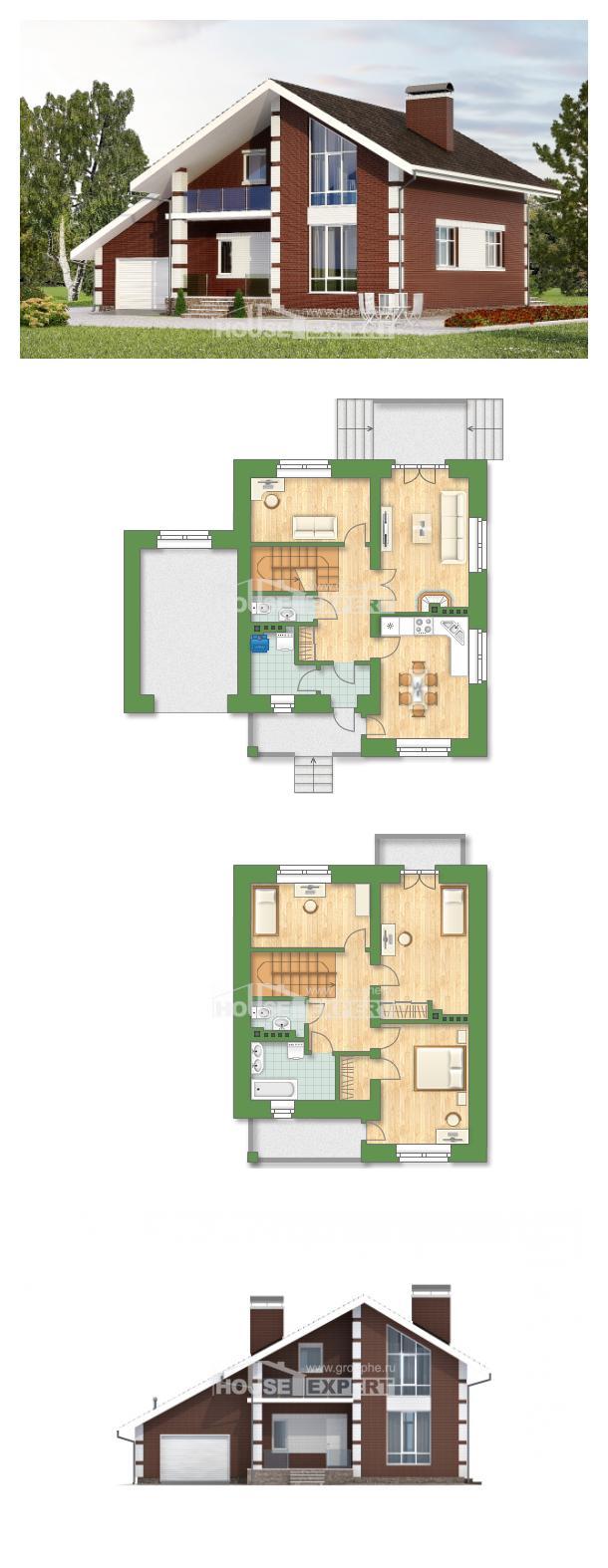 Проект дома 180-001-Л | House Expert
