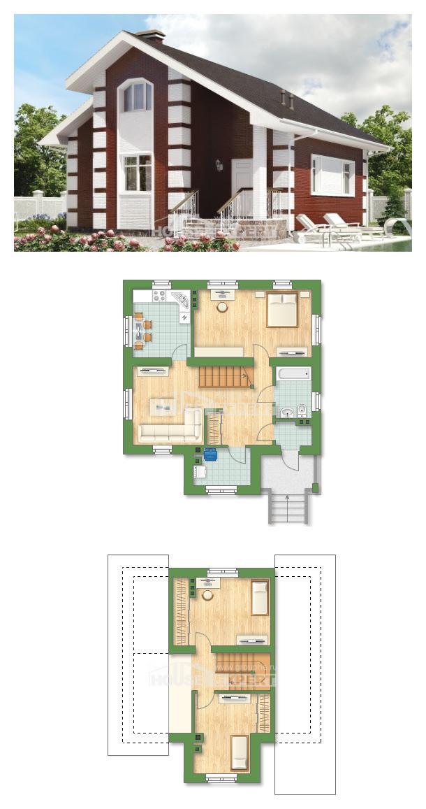 Проект дома 115-001-П | House Expert