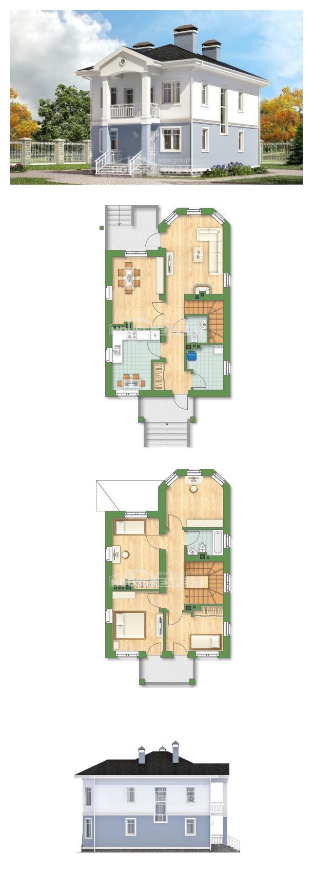 Проект дома 120-001-П | House Expert