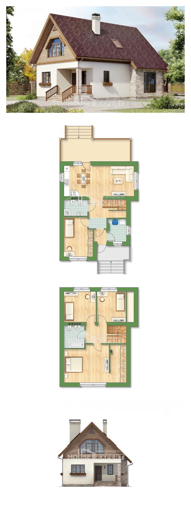 Проект дома 140-001-П | House Expert
