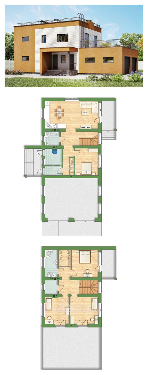 Проект дома 180-012-П | House Expert