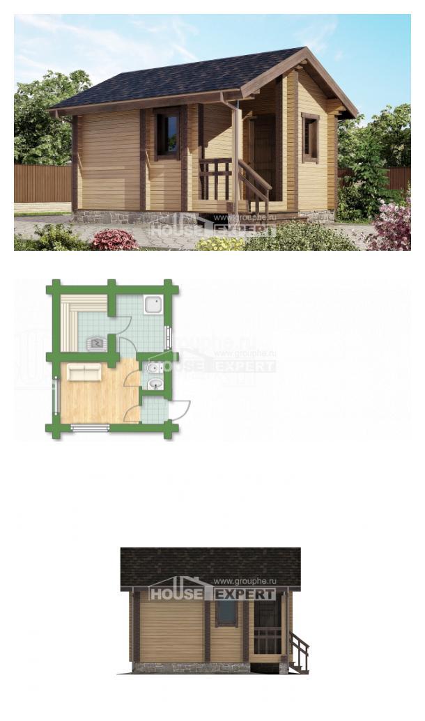 Проект дома 020-002-П   House Expert