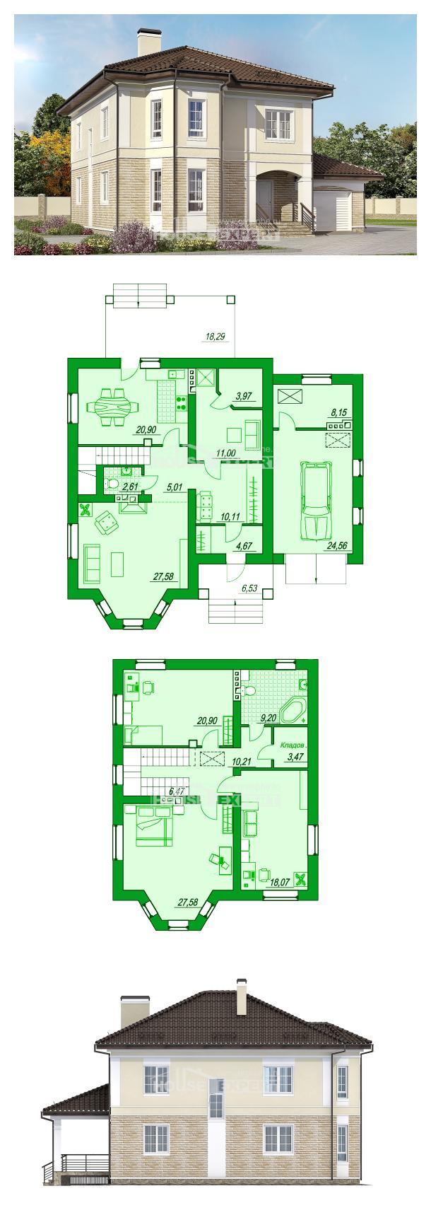 Проект дома 220-007-П   House Expert