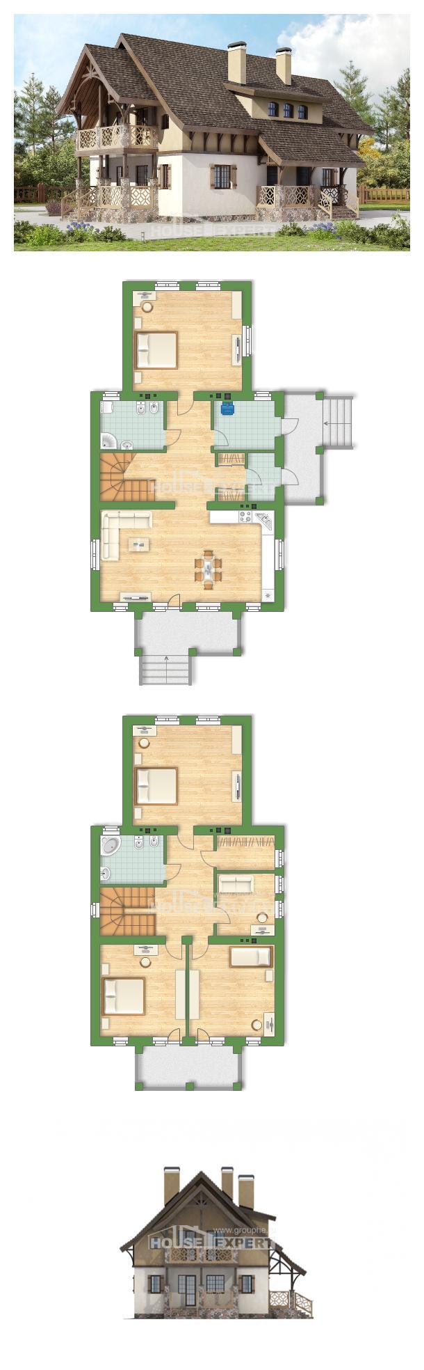 Проект дома 180-014-Л | House Expert