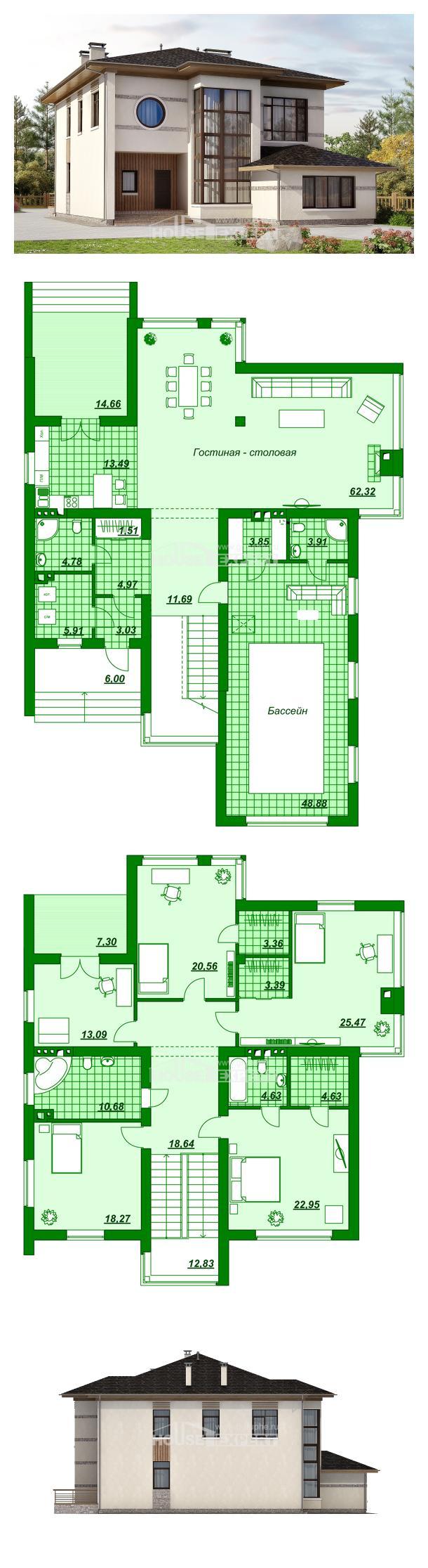 Проект дома 345-001-П | House Expert