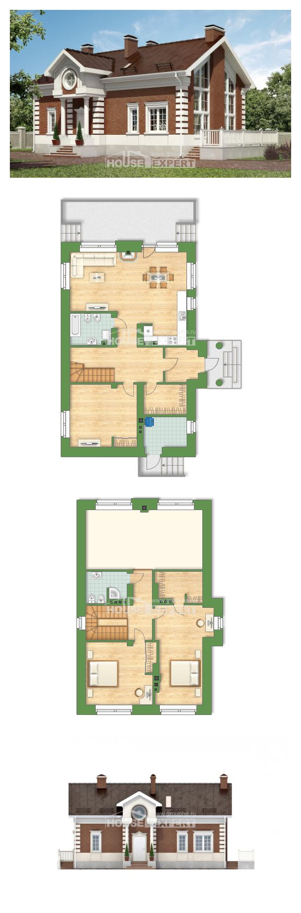 Проект дома 160-009-П | House Expert