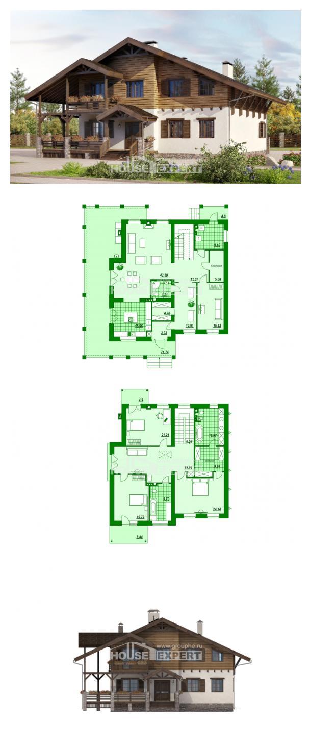 Проект дома 260-001-П   House Expert