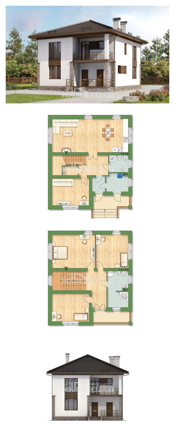 Проект дома 170-005-П | House Expert