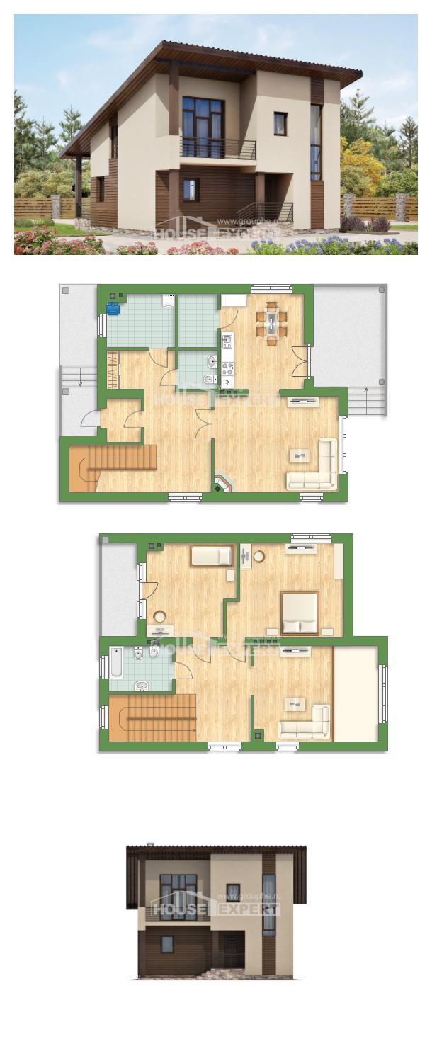 Проект дома 140-005-Л   House Expert