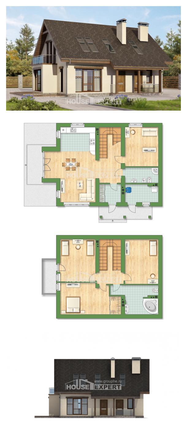 Проект дома 155-012-Л | House Expert