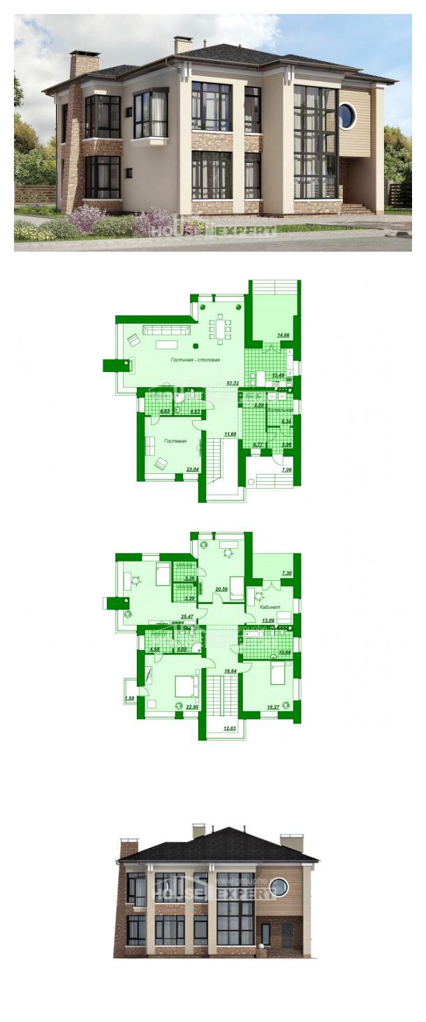 Проект дома 300-005-Л   House Expert