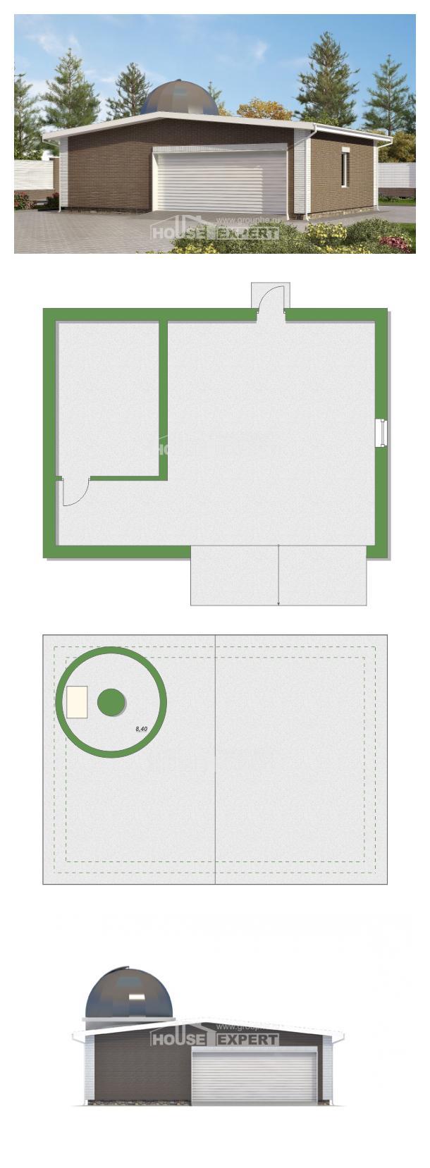 Проект дома 075-001-П | House Expert